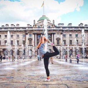 natarajasana lord of the dance king's dancer Somerset House Simon Manterfield