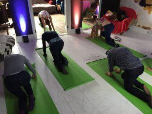 Vyagrasana Tiger pose Pathak Yoga Office Yoga