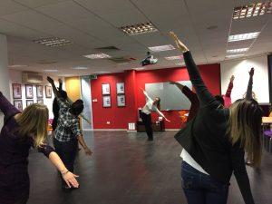 workplace yoga, office yoga, yoga everywhere, wellness week, meeting room yoga, corporate health and wellbeing champion, yoga London