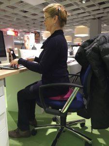 Yoga cushion, yoga chair, computer ergonomics