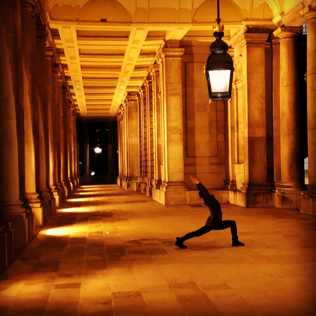 Ardhachandrasana, Crescent Moon Pose, Landmark Yoga, Greenwich, workplace yoga, office yoga, yoga everywhere, wellness week, desk yoga, chair yoga, corporate health and wellbeing champion, yoga London