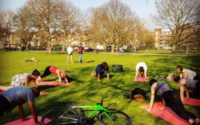 Health & wellbeing at work: yoga & mindfulness