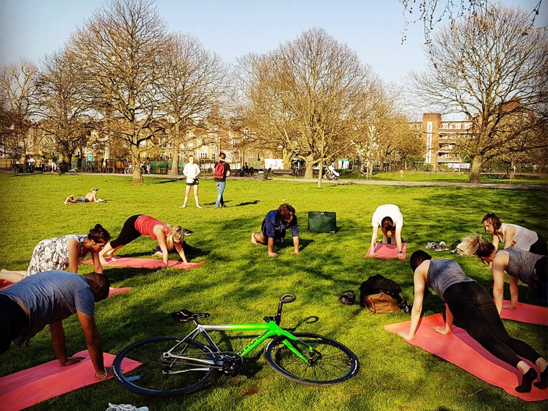 corporate yoga, office yoga, Traditional Yoga, Ravenscourt Park, KMG, workplace yoga, yoga everywhere, wellness week, desk yoga, chair yoga, corporate health and wellbeing champion, yoga London